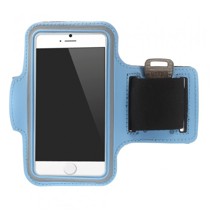 Brassard iPHONE 6 4,7 sport Bleu CLAIR Néoprène ULTRAconfortable