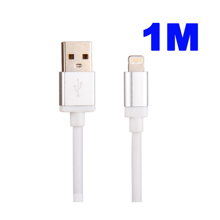 Cable 1 M Data et Charge USB-Dock pour IPHONE 5S