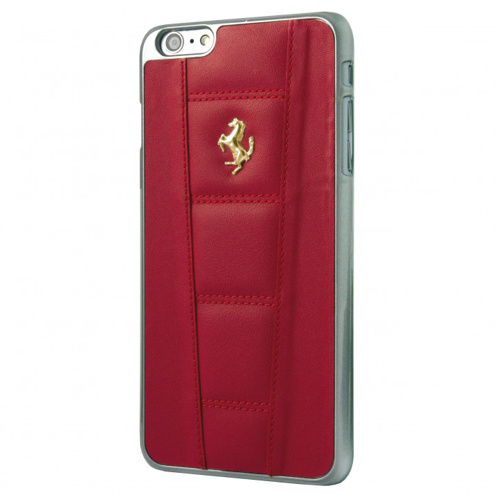 COQUE FERRARI iPhone 6 Plus / iPhone 6S Plus Ferrari 458 Logo GOLD - SERIE SPECIALE