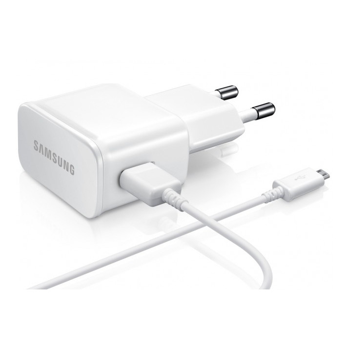 Samsung Galaxy A6 2018 Chargeur secteur 2A+cable 1.20m BLANC Micro USB
